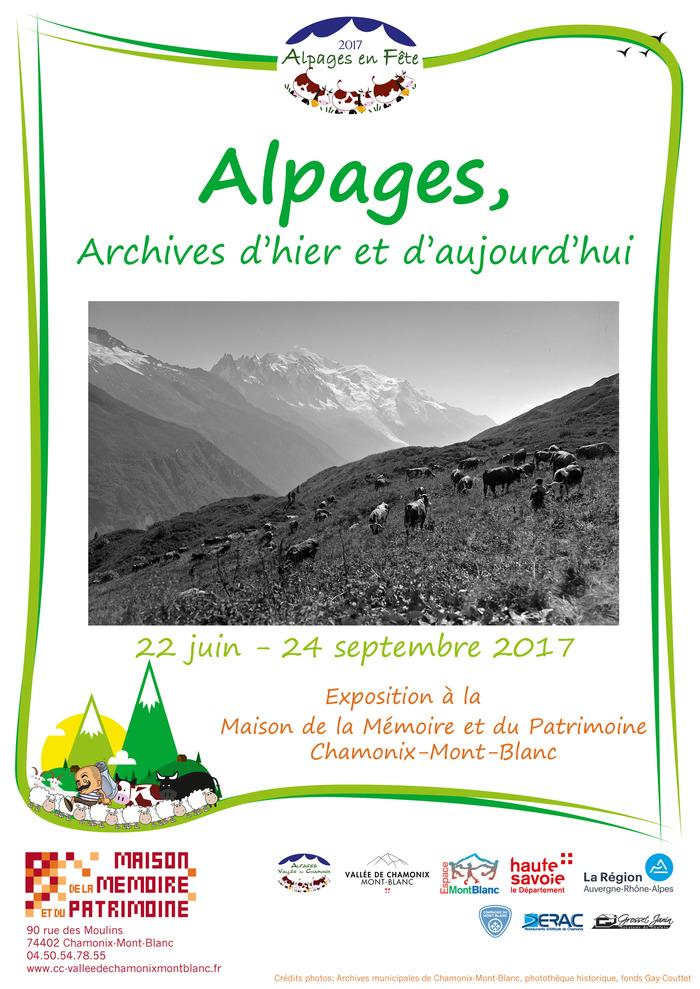 Crédits image : archives municipales de Chamonix