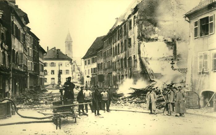 Journées du patrimoine 2018 - Altkirch et le Sundgau en 1918 - Un bilan effroyable et un retour à la vie quotidienne difficile