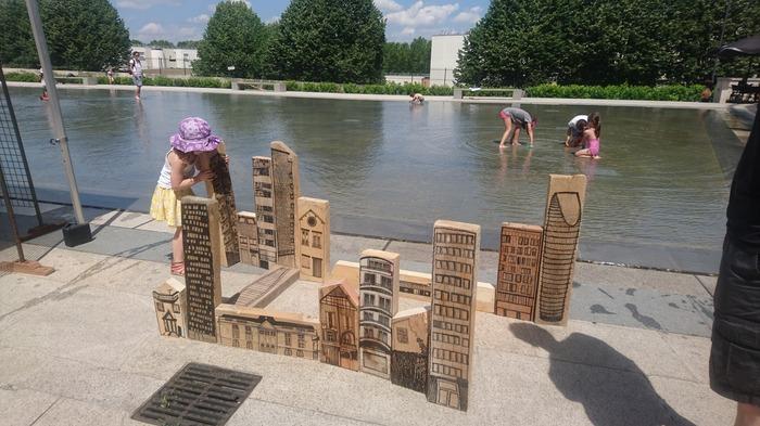 Journées du patrimoine 2018 - Aménagement d'une ville miniature avec Julie Guillaume, artiste des Arches
