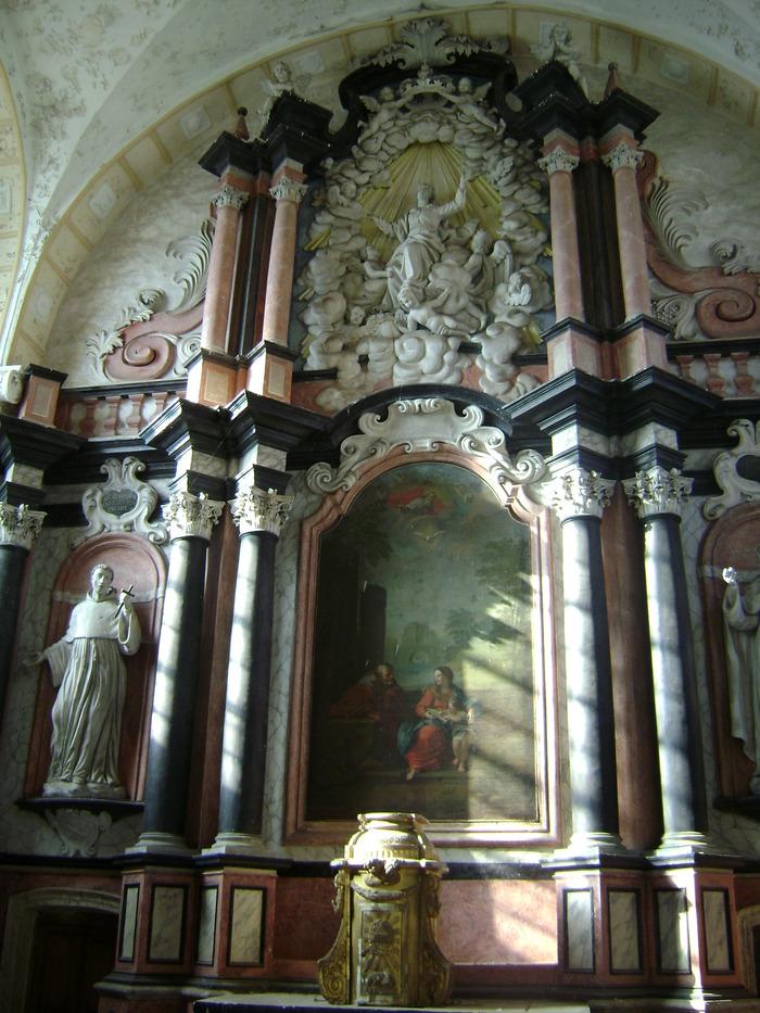 Journées du patrimoine 2018 - Ancienne chapelle des Clarisses, Montigny-lès-Vesoul (XVIIIème)