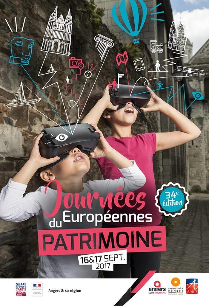 Journées du patrimoine 2017 - Angers patrimoine caché, Angers vue du ciel