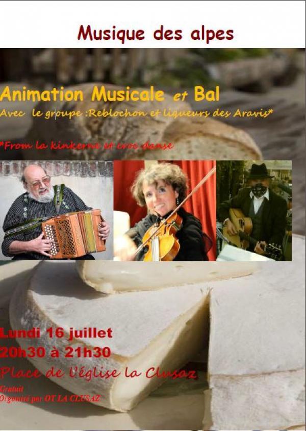 Animation musique des alpes