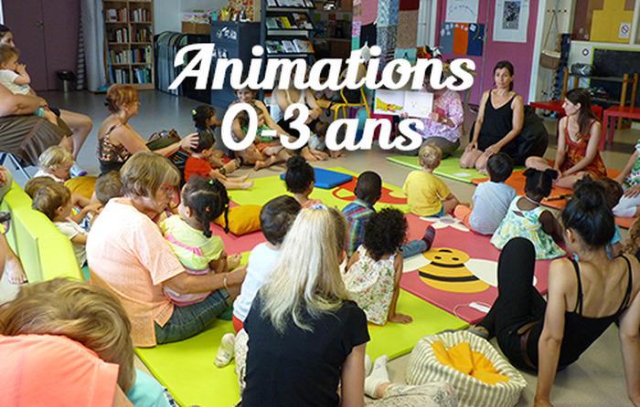 Animations 0-3 ans - Lecture à haute voix