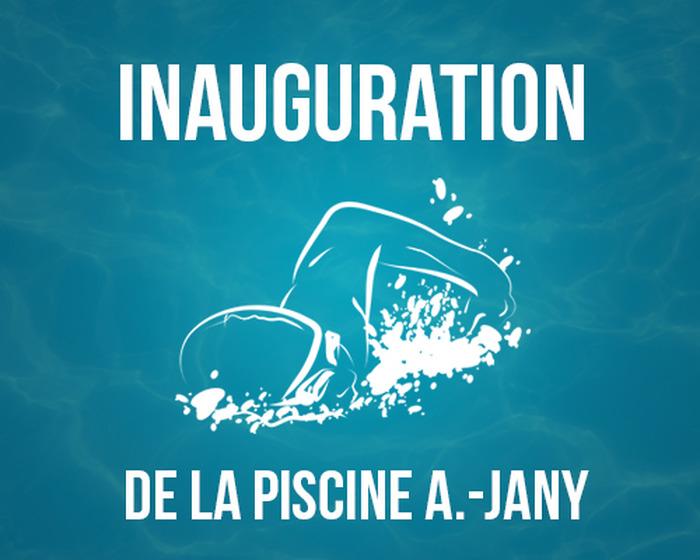 Inauguration de la piscine Alex-Jany