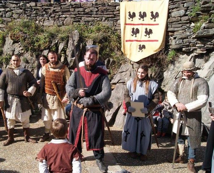 Journées du patrimoine 2018 - Animations médiévales, campement, échoppes, initiation, démonstration...