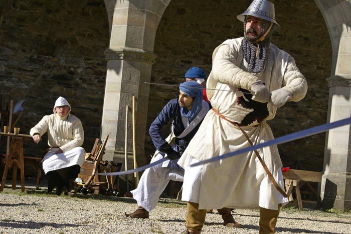 Journées du patrimoine 2018 - Animations médiévales par les Compaignons de Braëllo