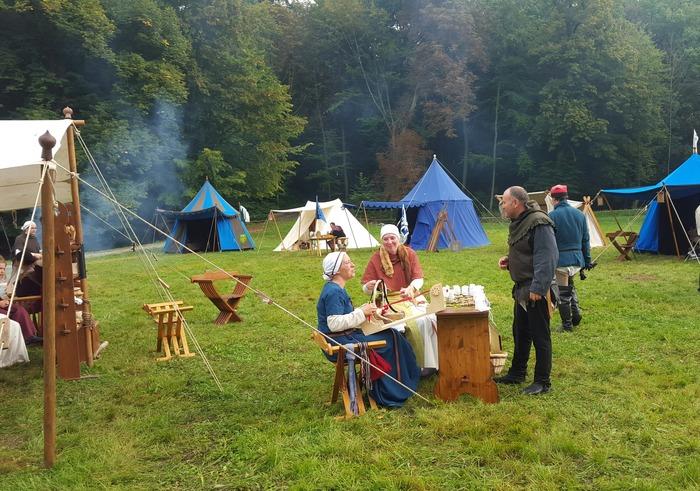 Journées du patrimoine 2018 - Animations médiévales proposées par l'association Tempus Medialis