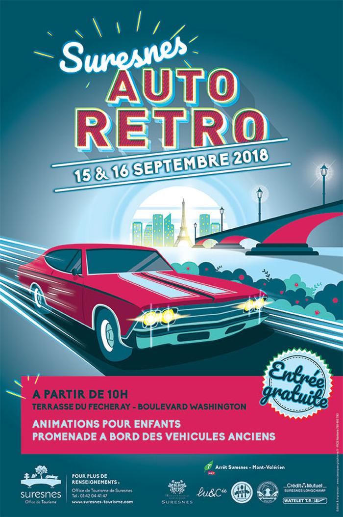 Journées du patrimoine 2018 - Animations pour enfants - Suresnes Auto Rétro
