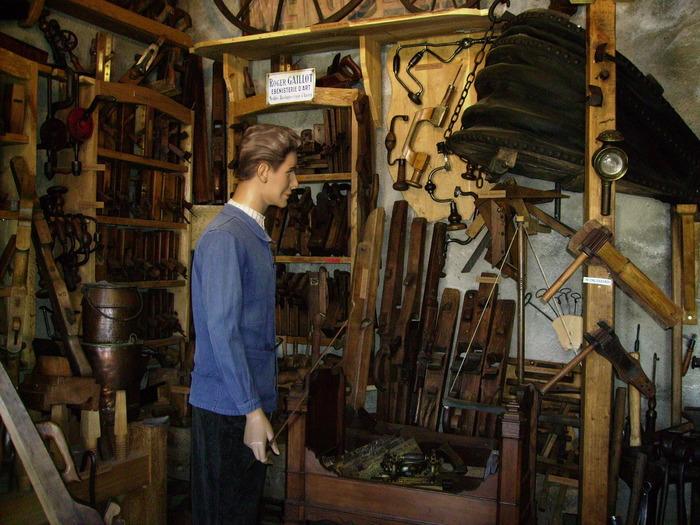 Crédits image : musée des outils d'hier