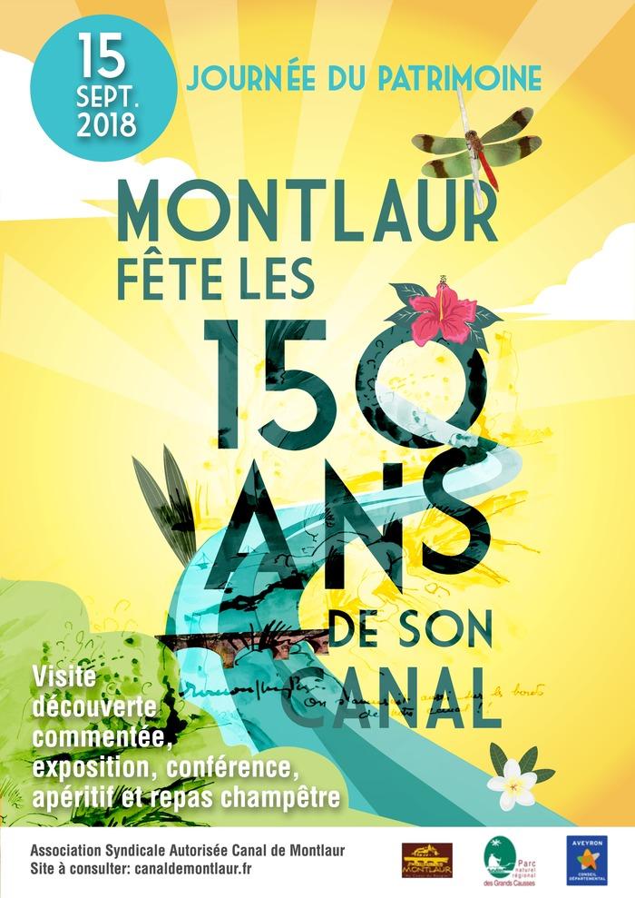 Journées du patrimoine 2018 - Anniversaire des 150 ans d'existence du Canal d'arrosage de Montlaur