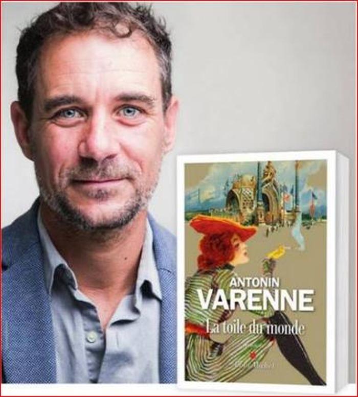 Antonin Varenne à la Librairie Les Mots et les Choses