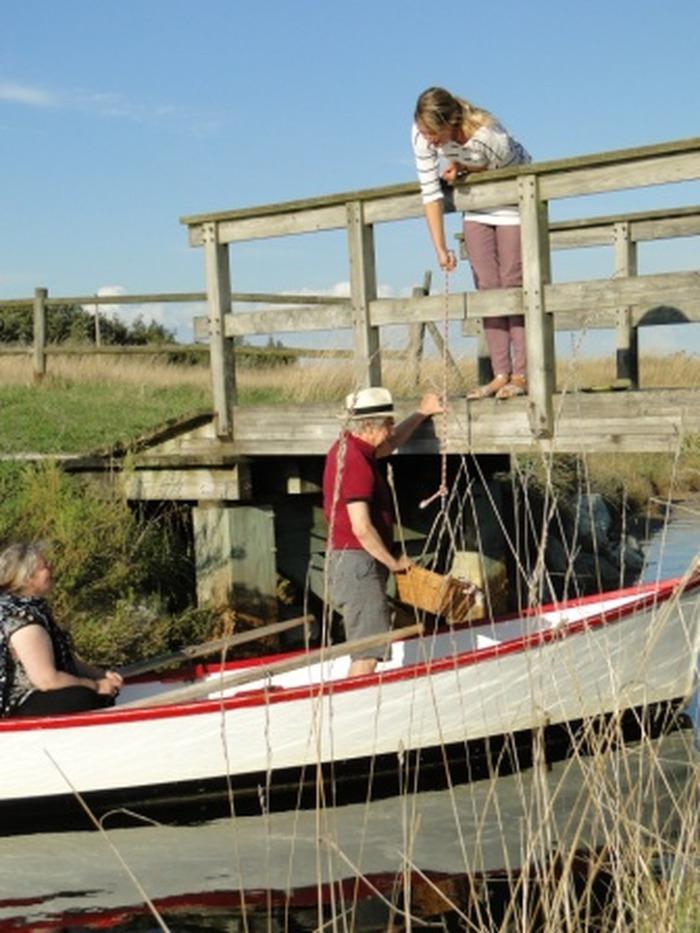 Journées du patrimoine 2018 - Apéritif en barque au port des salines