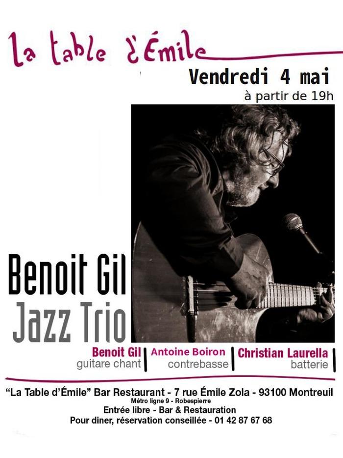 Apéro Benoit GIL Jazz Trio