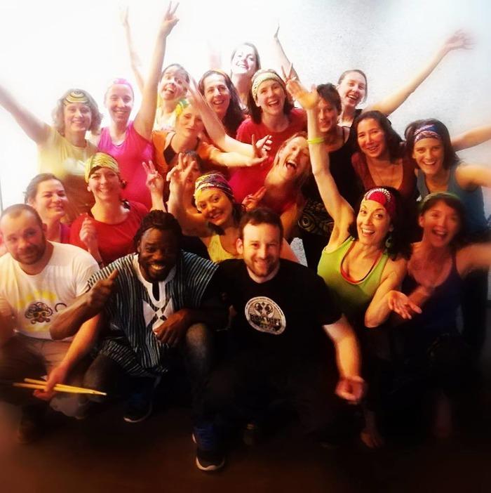 Apéro'jardin du 22 juin : répétition/démo dance afro par l'association Artchoum…
