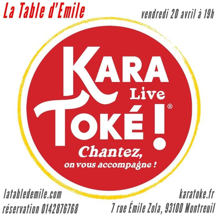 Apéro Karatoke Live