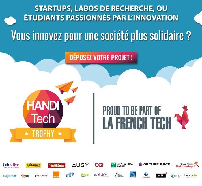 Appel à projet : Les Trophées de La Handitech 2018