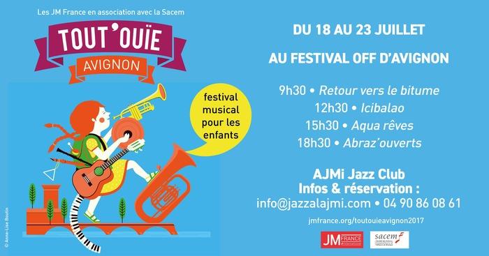 Aquarêves au festival Tout'Ouïe - festival Off d'Avignon