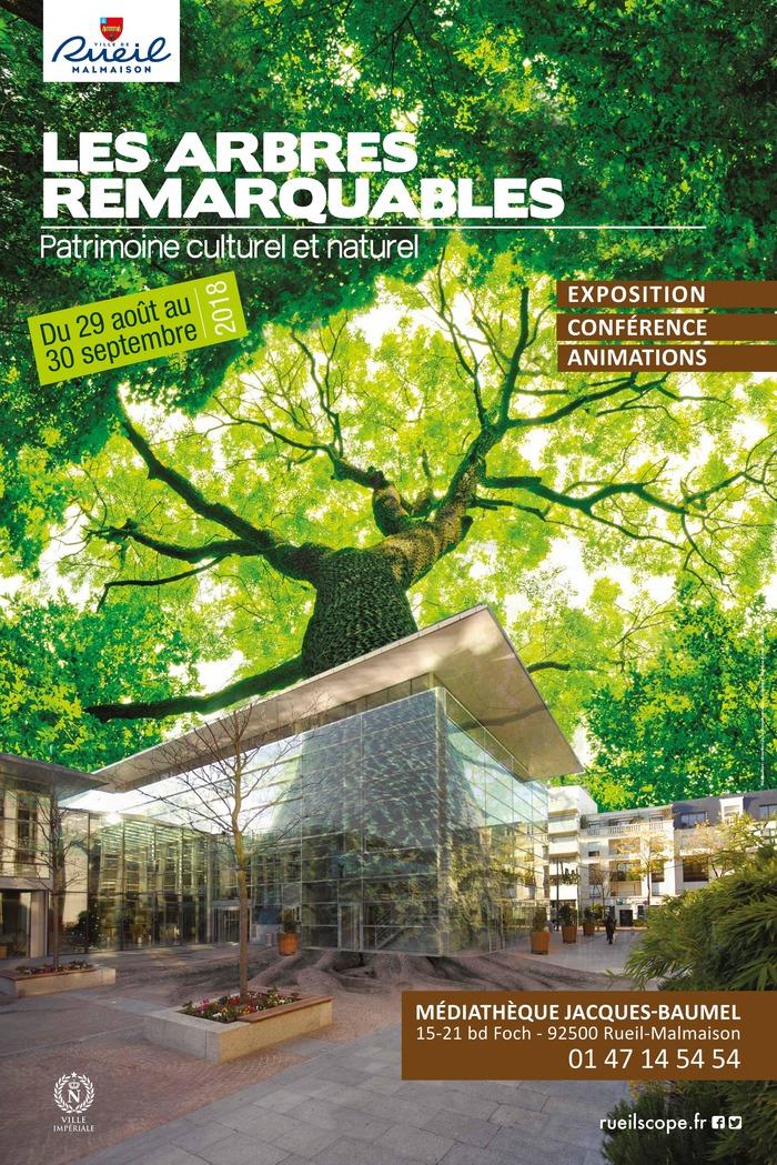 Journées du patrimoine 2018 - Arbres remarquables. Patrimoine culturel et naturel - Conférence