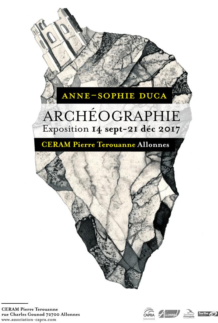 Crédits image : Affiche d'Archéographie (Crédits : Anne-Sophie Duca.
