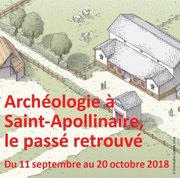 Journées du patrimoine 2018 - Archéologie à Saint-Apollinaire : le passé retrouvé