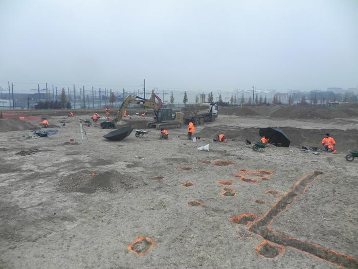 Crédits image : Vue générale du chantier- (c) Grand Reims