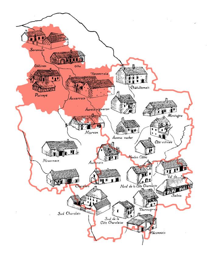 Crédits image : CAUE de l'Yonne, d'après un dessin de J-L Baritou