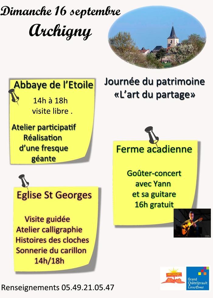 Journées du patrimoine 2018 - Archigny
