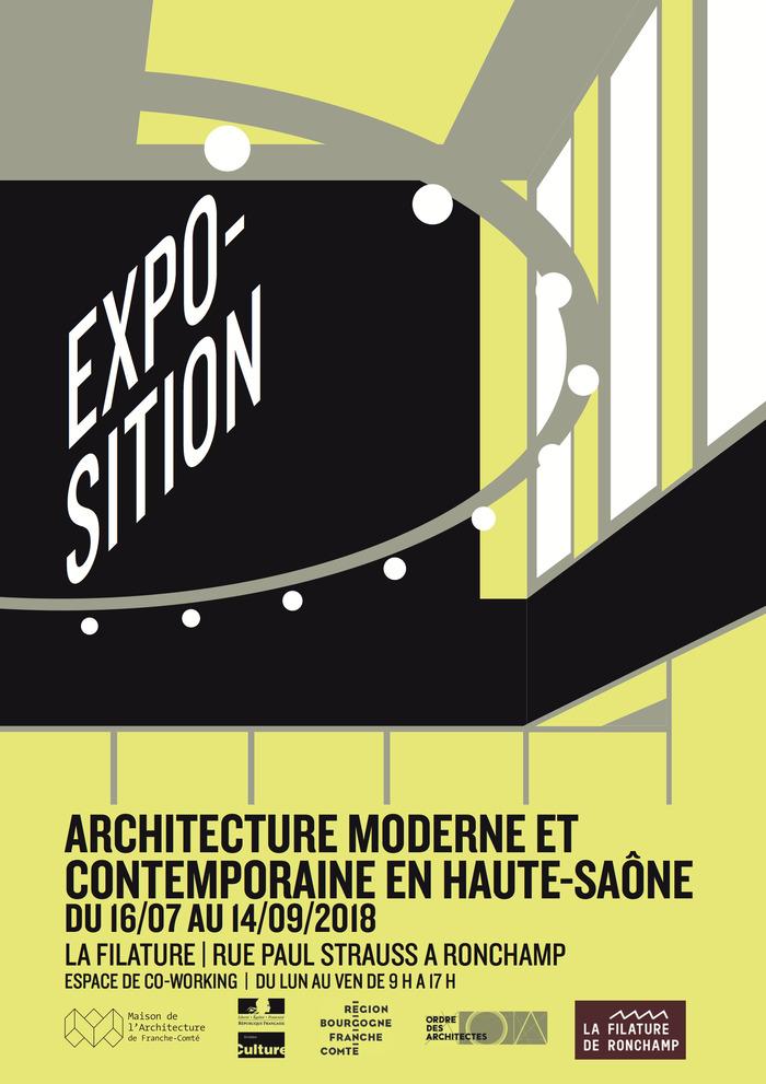 Journées du patrimoine 2018 - Architecture contemporaine en Haute-Saône