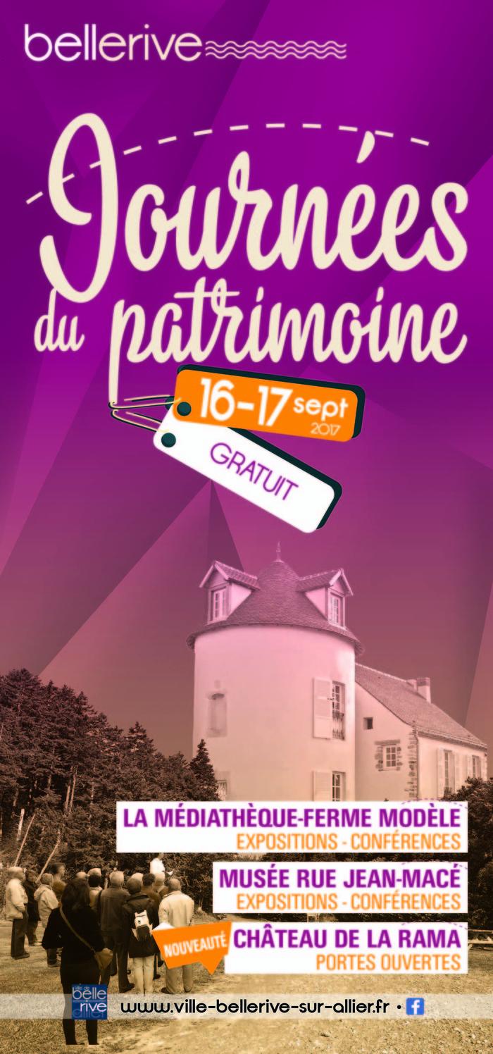 Journées du patrimoine 2017 - Architecture des charpentes des maisons ducales du Bourbonnais