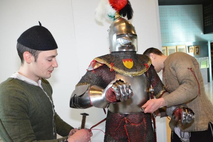 Crédits image : Centre Historique Médiéval d'Azincourt