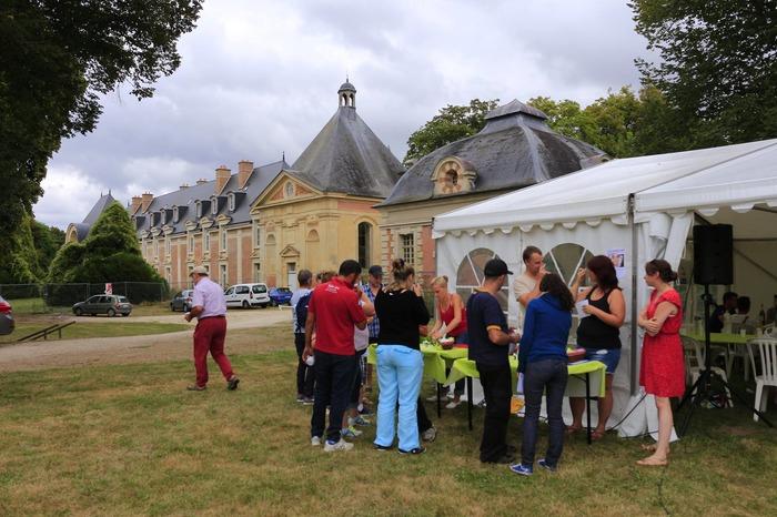 Journées du patrimoine 2018 - Arrivée de la balade du Chêne-Roi
