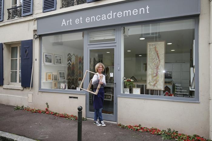 Journées du patrimoine 2018 - Art et encadrement Natalie Milles-Lacroix