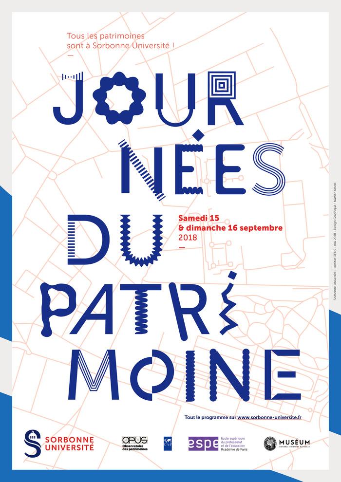 Journées du patrimoine 2018 - Art et histoire du campus Pierre et Marie Curie