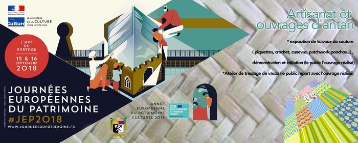 Journées du patrimoine 2018 - Artisanat et ouvrages d'antan