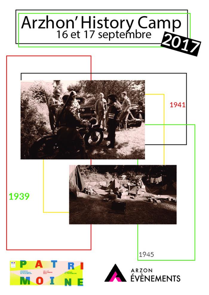Journées du patrimoine 2017 - Arzhon'History Camp