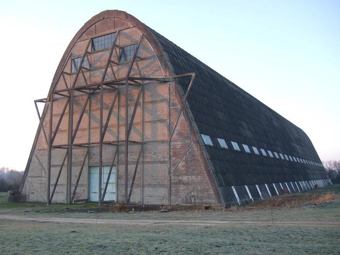 Journées du patrimoine 2018 - Visite guidée du hangar à dirigeables d'Ecausseville