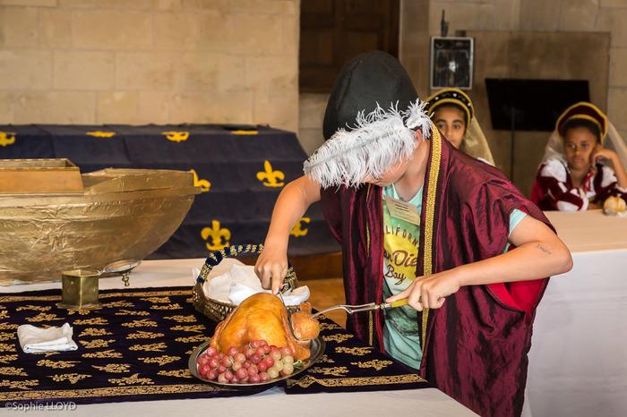 Journées du patrimoine 2018 - Atelier «À la table d'un roi»