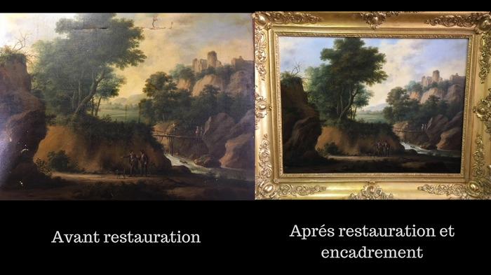 Journées du patrimoine 2018 - Atelier Arts et Tableaux de Nathalie Rousselin