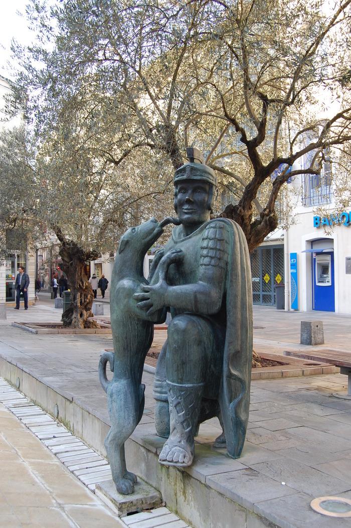 Journées du patrimoine 2018 - Initiation originale aux techniques de la BD historique, autour de la légende dacquoise du légionnaire et son chien