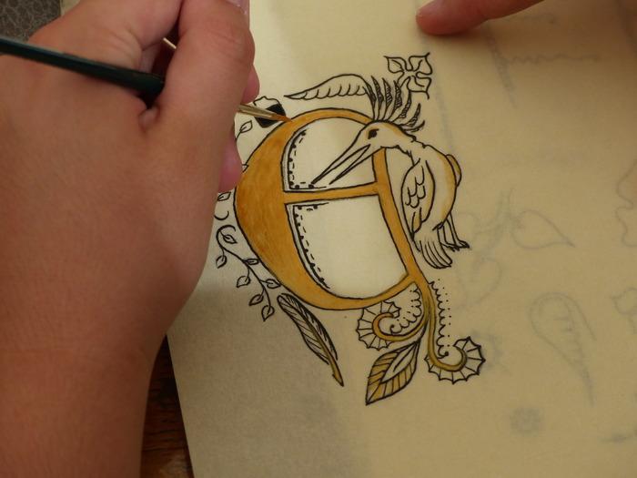 Journées du patrimoine 2018 - Atelier Calligraphie médiévale