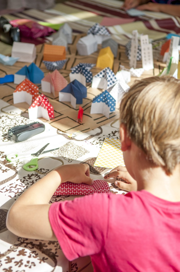 """Atelier """"Construis ta ville en origami"""""""