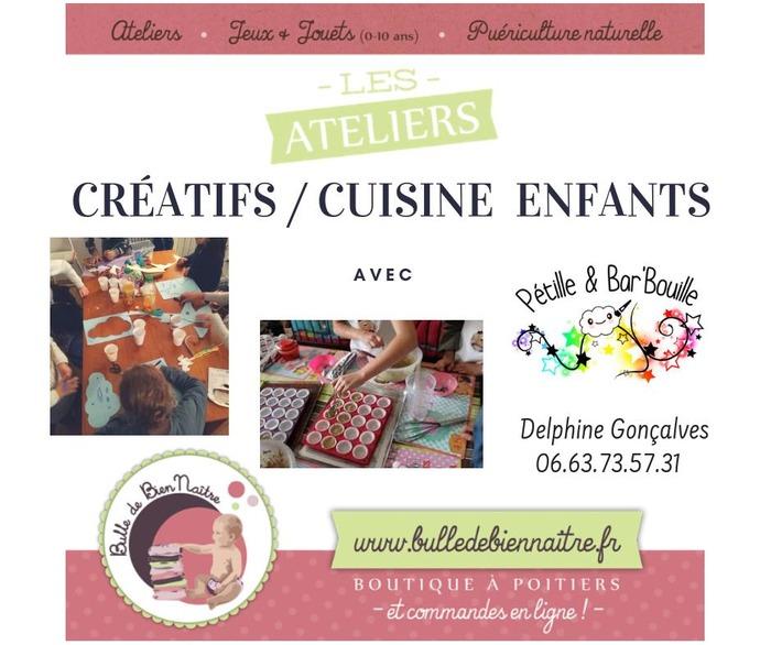 Atelier créatif / Cuisine Enfant