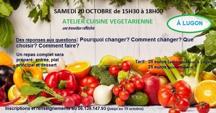 Atelier cuisine végétarienne - une transition réfléchie