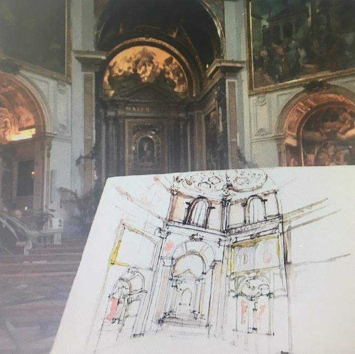Journées du patrimoine 2018 - Atelier d'aquarelle