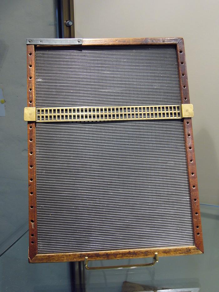 Crédits image : copyright musée Louis Braille / maison natale de Louis Braille