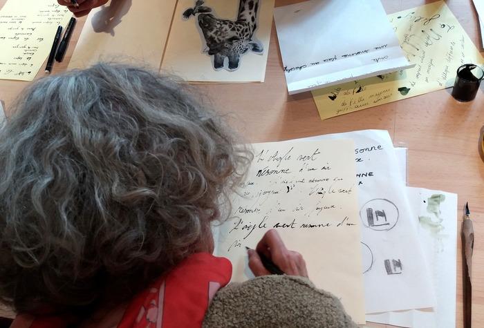 Journées du patrimoine 2018 - Atelier d'écriture