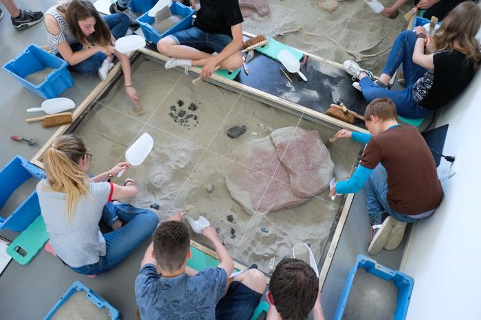 Journées du patrimoine 2018 - Atelier d'initiation à l'archéologie