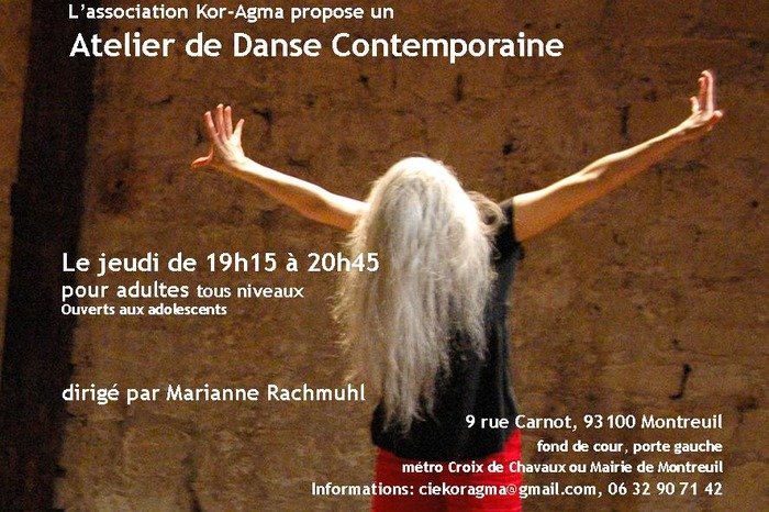 Atelier de danse contemporaine
