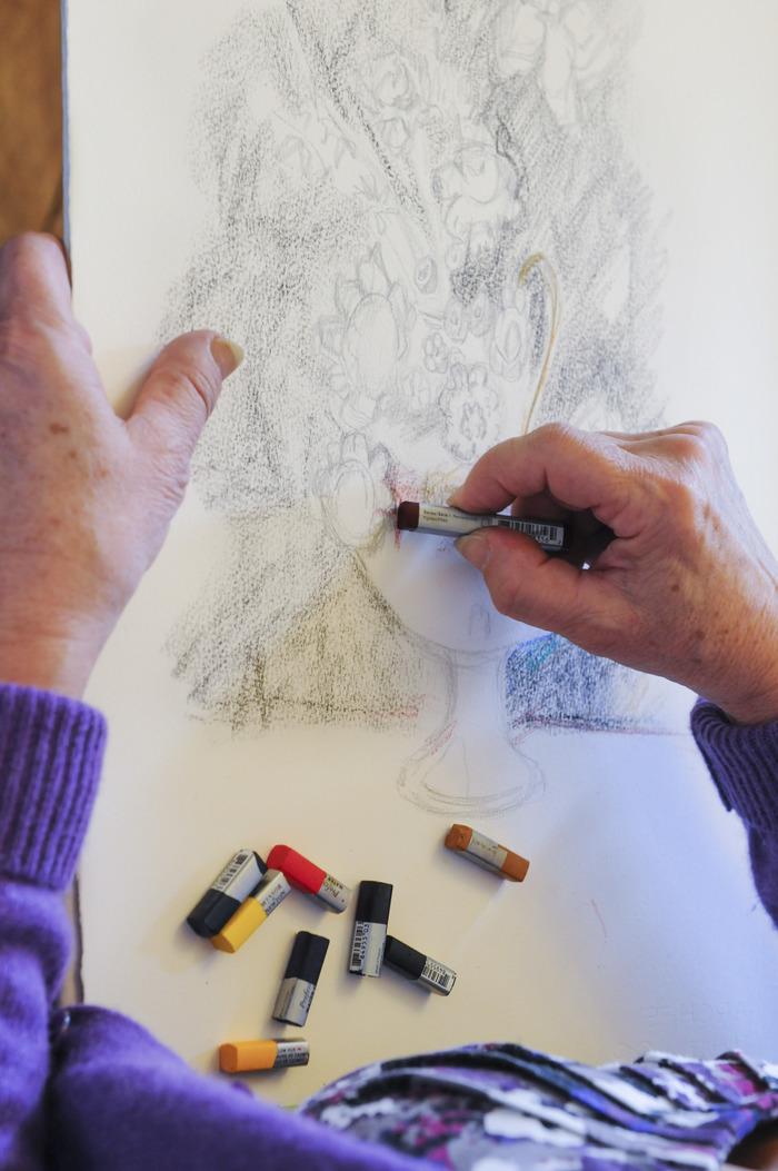 Journées du patrimoine 2018 - Atelier de découverte du pastel