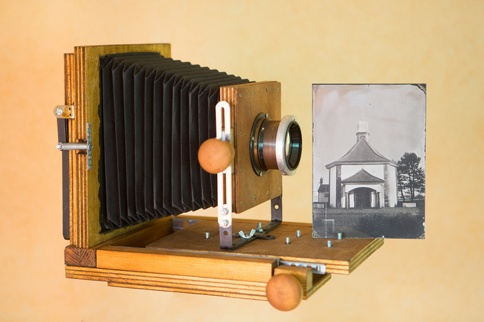 Journées du patrimoine 2018 - Atelier de photographies sur plaque de verre